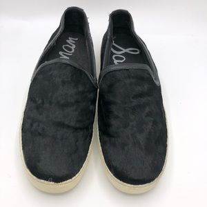 Sam Edelman Becker Calf Hair Slip On Loafers 9.5
